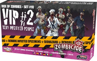 Zombicide - VIP #2 - Very Infected People - Expansão