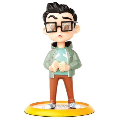 Action Figure The Big Bang Theory - Leonard Q-Fig