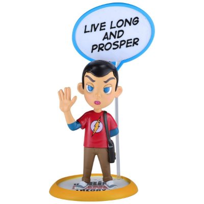 Action Figure The Big Bang Theory - Sheldon Q-Fig