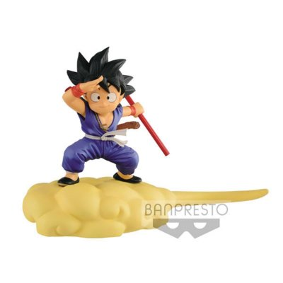 Action Figure Dragon Ball Goku Nuvem Voadora Azul
