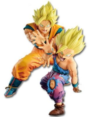 Action Figure - Dragon Ball Z - VS Existence - Goku & Gohan