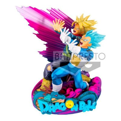 Action Figure - Dragon Ball Super - Super Master Star Diorama - Vegeta&Trunks