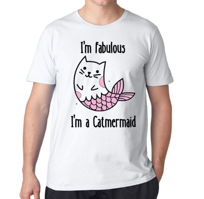Camiseta I'm Fabulous Catmermaid