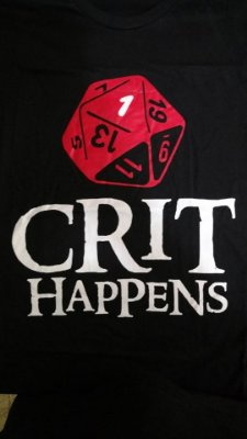 Camiseta Crit Happens