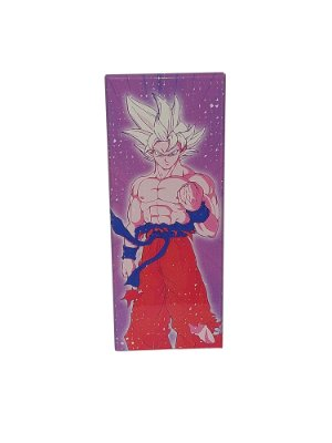 Placa Decorativa - Son Goku (ssj) - Dragon Ball