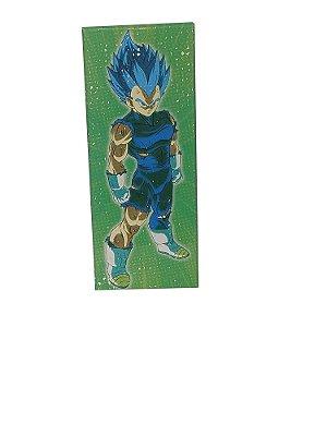 Placa Decorativa - Vegeta (ssj Blue) - Dragon Ball Z