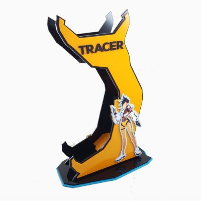 Suporte Headset  Overwhatch - TRACER