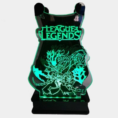 Suporte Headset  League of Legends Com Led - THRESH