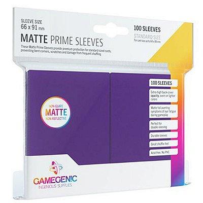 Sleeves Gamegenic Matte Prime (Roxo)