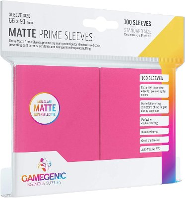 Sleeves Gamegenic Matte Prime (Rosa)