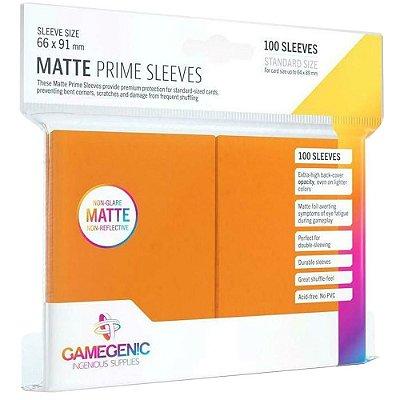 Sleeves Gamegenic Matte Prime (Laranja)