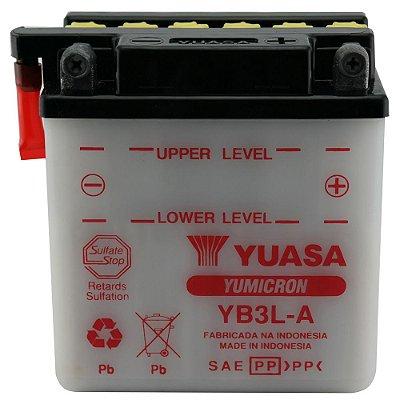 Bateria Yuasa YB3L-A | 12V - 3Ah | XL 250R | XL 350R | DT 180 | PX 200