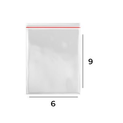 SACO ZIP LOCK 6 X 9 - N2