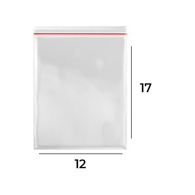 Saco Zip Lock 12 x 17 - N6