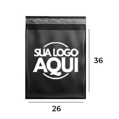ENVELOPE DE SEGURANÇA PERSONALIZADO BLACK 26 X 36