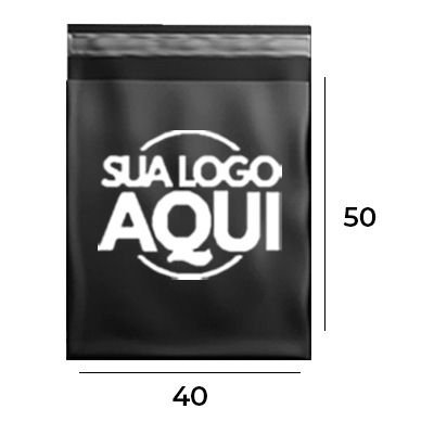 ENVELOPE DE SEGURANÇA PERSONALIZADO BLACK 40 X 50