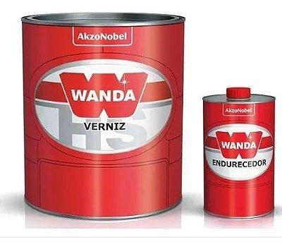 VERNIZ PU 5100 HS WANDA 750ML + ENDURECEDOR