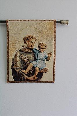 Tapeçaria Santo Antônio com o Menino Jesus