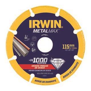 Disco de Corte para Metais 115 x 22 mm  METALMAX