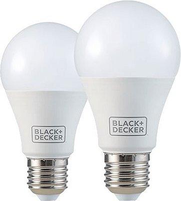 Lampada LED Bulbo A60 9W Branca Black&Decker cx 10 pç