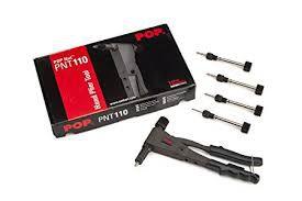 Alicate Rebitador p/ roscas M3-M4-M5-M6  c/100 roscas inclusas.