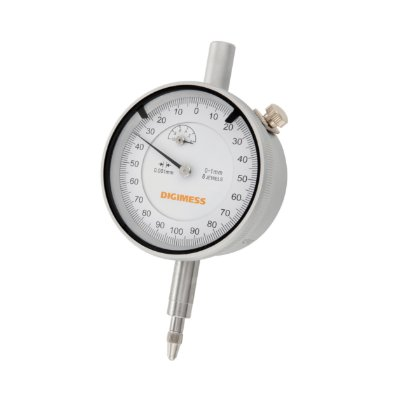 Relógio Comparador Capacidade: 0-1mm Graduação: 0,001mm Digimess
