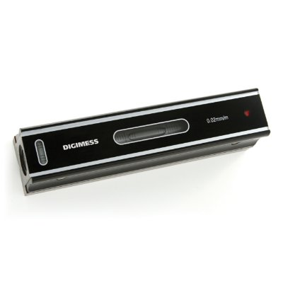 Nível Linear de Precisão Dimensão: 200mm Sensibilidade: 0,02mm/m Digimess