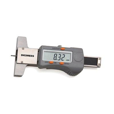 Paquimetro Digital Profundidade 30mm (Sulcos De Pneu) Digimess