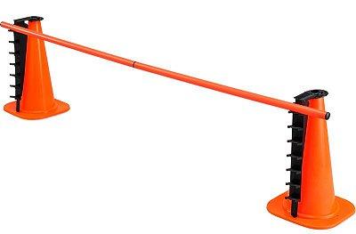 Cone com suporte ajustável e bastão