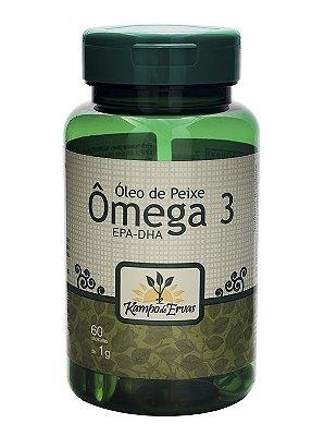 Óleo de Peixe (Omega 3) - 60 Cápsulas de 1000mg
