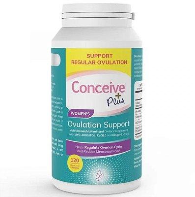 Conceive Plus (120 Cápsulas) - Apoio à Ovulação Feminina