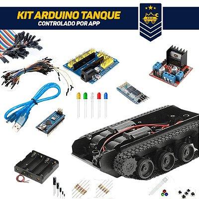 Kit Arduino Tanque Controlado por App