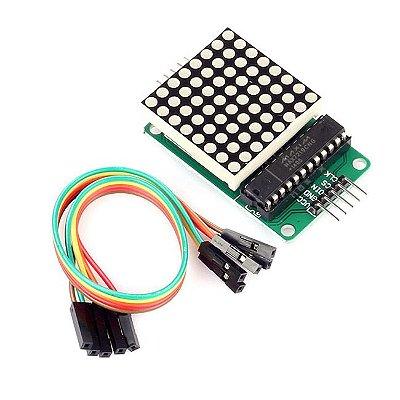 Módulo Matriz de LED 8x8 com MAX7219