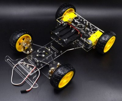 Kit Chassi  Fórmula 1 Para Arduino