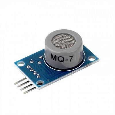 Sensor de Gás MQ-7 Monóxido de Carbono