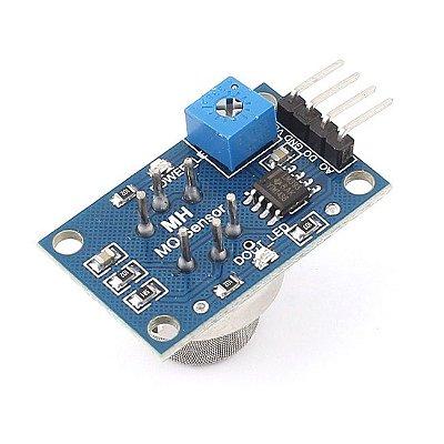 Sensor de Gás MQ-6 GLP Isobutano Propano