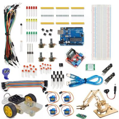 Kit Arduino Advanced Robótica Plus
