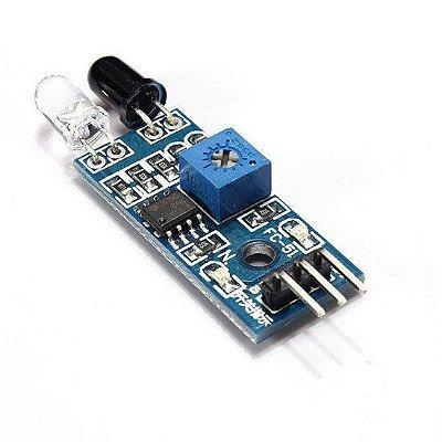 Sensor de Obstáculos Reflexivo Infravermelho