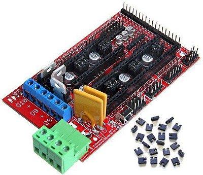 Shield Ramps 1.4 para Impressora 3D Reprap para Arduino
