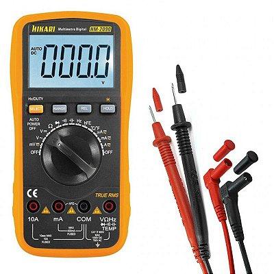 Multímetro Digital Hikari Profissional HM 2090