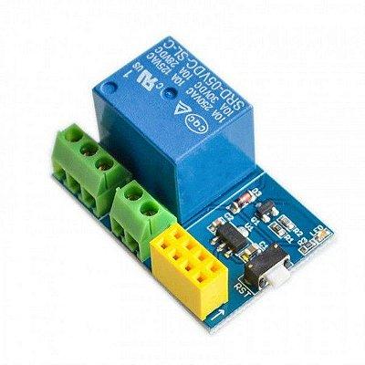 Relé Shield 5V 1 Canal para Módulo Wifi ESP8266 ESP-01s