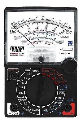 Multímetro Analógico HM-202A+ Hikari