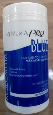 Pó descolorante kimika azul