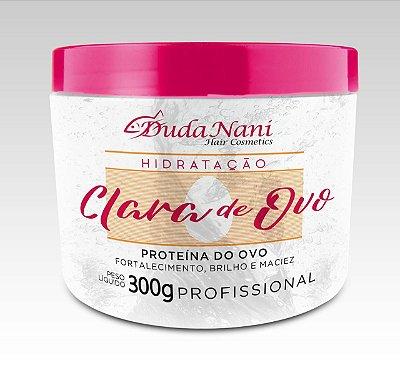 Hidratação Clara de ovo Dudanani 300 ml