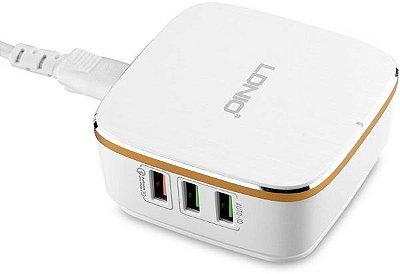 Carregador USB Ldnio 6 portas - quick charge 2.0