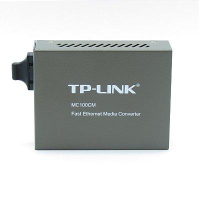 Conversor de Mídia TP-LINK MC-100CM  Ver.3.1 10/100Mbps Multi-Modo