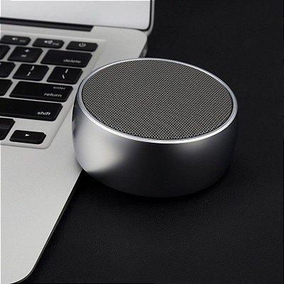 Caixa de som e speaker Bluetooth Portátil Redondo