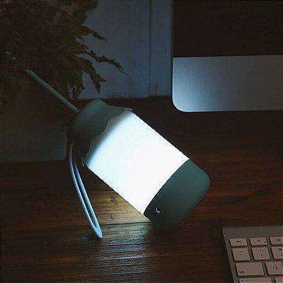 Luminária portátil com regulagem da intensidade de luz