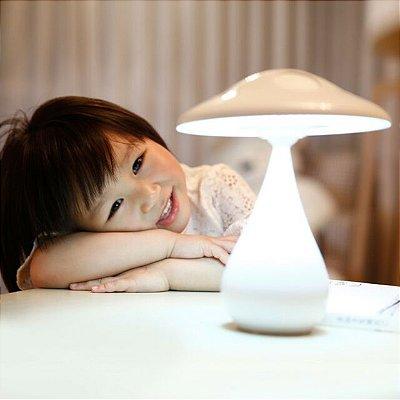 Luminária e purificador de ar - mushroom