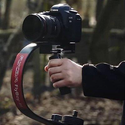 Estabilizador de câmera Flycam Flyboy III DSLR Estabilizador e Adaptador para GoPro e iPhone